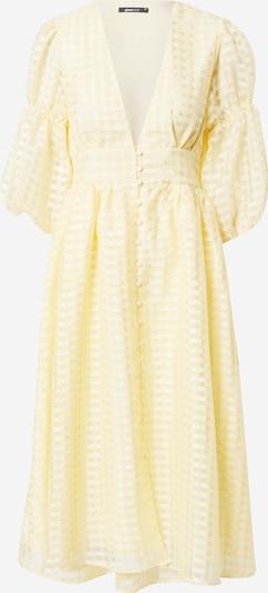 Gina Tricot Рокля тип риза 'Simone' в светложълто: Изглед отпред