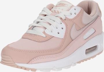 Baskets basses 'Air Max 90' Nike Sportswear en rose