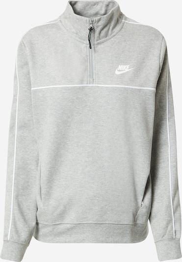 szürke melír / fehér Nike Sportswear Tréning póló, Termék nézet