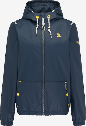 Schmuddelwedda Jacke in navy / gelb, Produktansicht