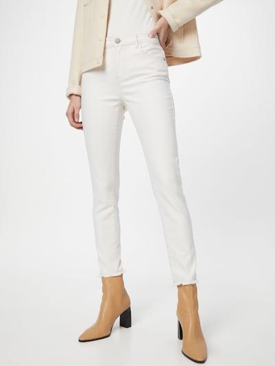 OPUS Farkut 'Evita' värissä valkoinen denim: Näkymä edestä