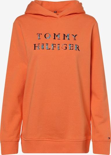 Bluză de molton TOMMY HILFIGER pe albastru deschis / portocaliu deschis / roșu / negru, Vizualizare produs
