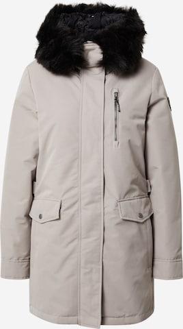 G.I.G.A. DX by killtec Płaszcz outdoor 'Stormiga' w kolorze beżowy