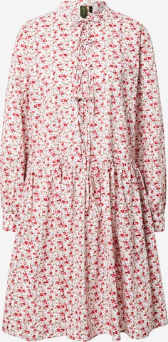 Résumé Kleid 'Elena' in Rot