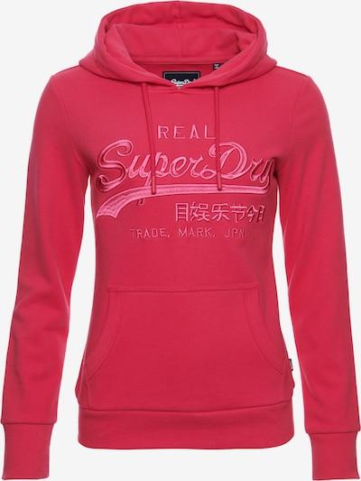 Superdry Sweatshirt in magenta, Produktansicht