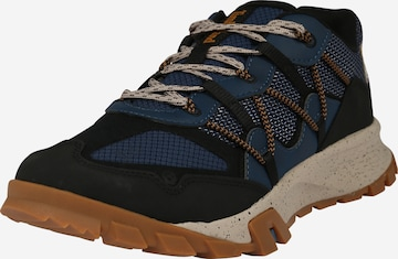 zils TIMBERLAND Sporta apavi ar šņorēm 'Garrison'