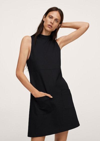 MANGO Kleid 'milly2' in schwarz, Modelansicht