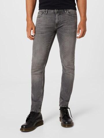TOM TAILOR DENIM Jeans 'Piers' in Grau