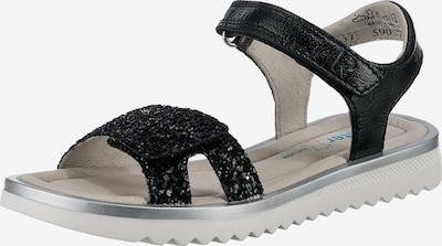 RICHTER Sandale in schwarz, Produktansicht