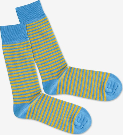 DillySocks Socken in blau / gelb, Produktansicht