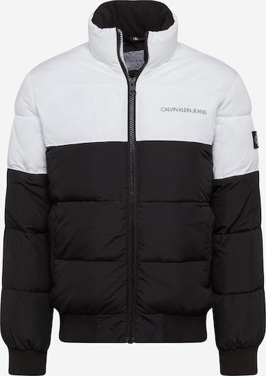 Calvin Klein Jeans Winterjas in de kleur Zwart / Wit, Productweergave
