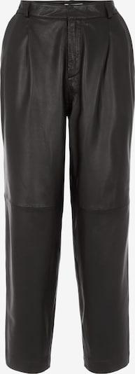 fekete OBJECT Élére vasalt nadrágok 'Mia', Termék nézet