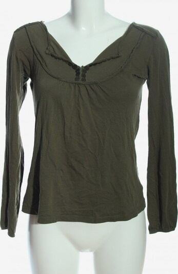 MONA Langarm-Bluse in M in khaki, Produktansicht