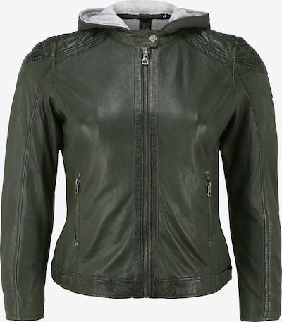 Gipsy Lederjacke 'GGABBY' in grün, Produktansicht