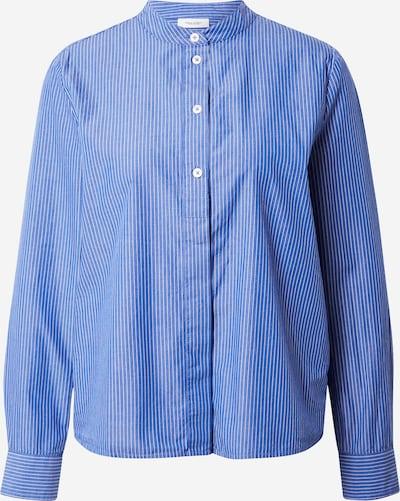 Marc O'Polo DENIM Bluse in blau / weiß, Produktansicht