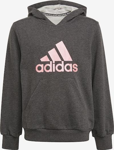 ADIDAS PERFORMANCE Sportsweatshirt in pink / schwarzmeliert, Produktansicht