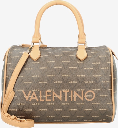 Valentino by Mario Valentino Handtas 'Liuto' in de kleur Lichtbruin / Donkerbruin, Productweergave