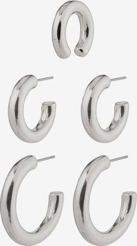 Pilgrim Øredobber 'Reconnect' i sølv