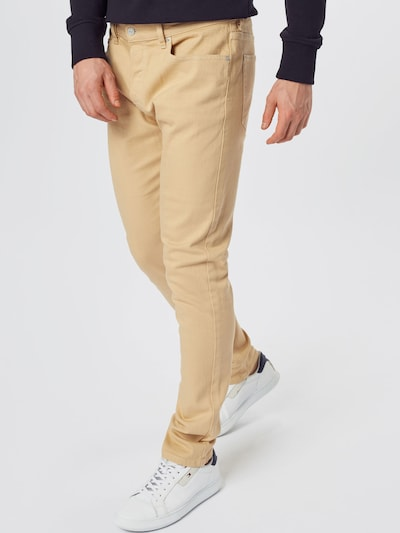DIESEL Jeans 'LUSTER' in beige, Modelansicht