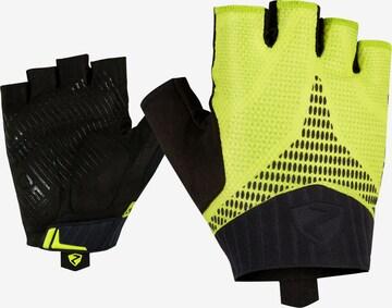 ZIENER Athletic Gloves 'CENO' in Yellow