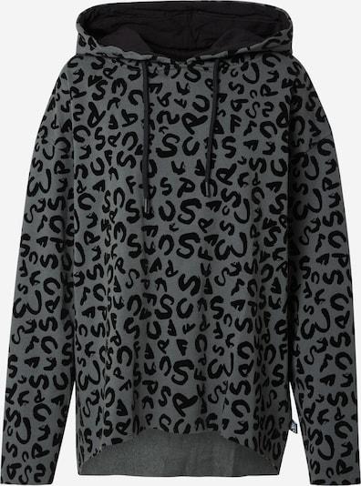 FC St. Pauli Sweatshirt 'Leo' in grau / schwarz, Produktansicht