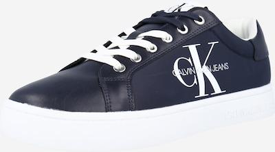 tengerészkék / fehér Calvin Klein Jeans Rövid szárú edzőcipők, Termék nézet