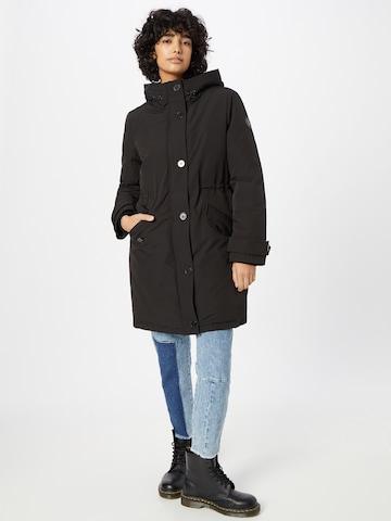 juoda s.Oliver Žieminis paltas