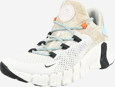 NIKE Sporta apavi 'FREE METCON 4', krāsa - kamieļkrāsas / debeszils / gaiši zaļš / melns / balts, Preces skats