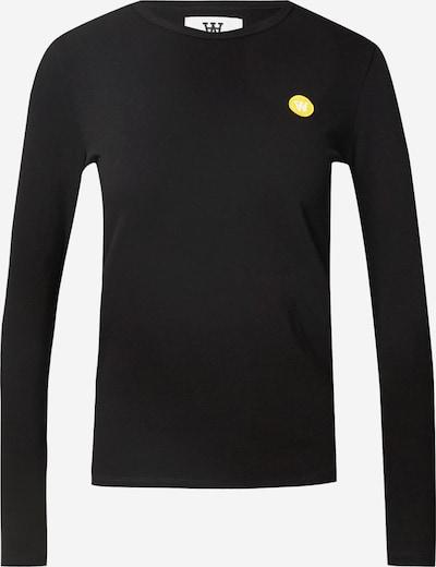 WOOD WOOD Shirt 'Moa' in de kleur Zwart, Productweergave
