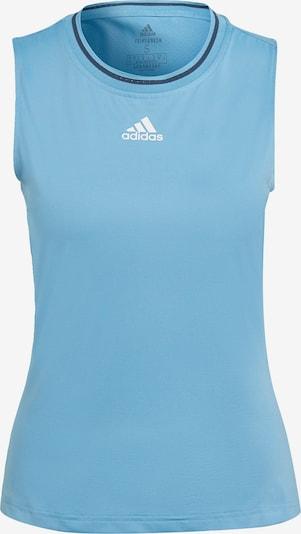 ADIDAS PERFORMANCE Sporttop in hellblau / weiß, Produktansicht