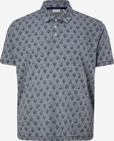 s.Oliver Shirt in de kleur Blauw / Duifblauw: Vooraanzicht
