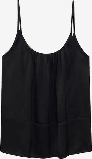 MANGO Top 'BET' | črna barva, Prikaz izdelka
