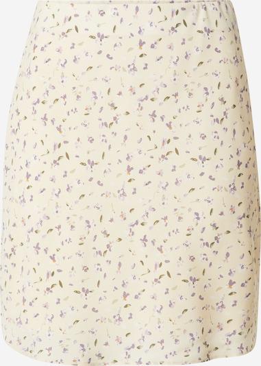 Neo Noir Suknja 'Lunna' u boja pijeska / maslinasta / lila / narančasta / bijela, Pregled proizvoda
