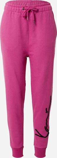 Karl Kani Broek 'Signature' in de kleur Pink / Zwart, Productweergave
