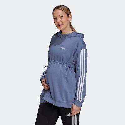 ADIDAS PERFORMANCE Sportsweatshirt in lavendel / weiß: Frontalansicht