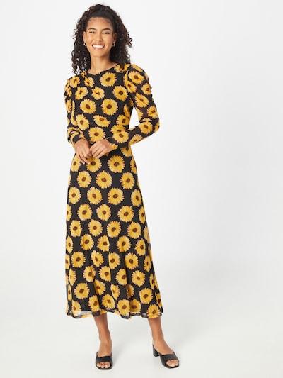 Fabienne Chapot Kleid 'Bella' in gelb / schwarz, Modelansicht