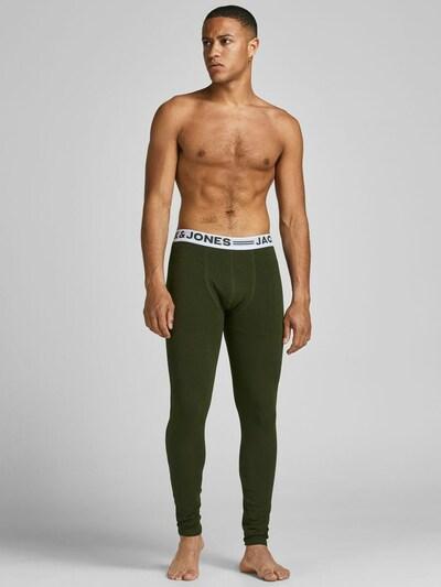 JACK & JONES Unterhose in grün / weiß, Modelansicht