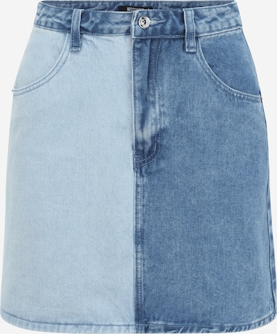 Missguided (Petite) Rock in blue denim / hellblau, Produktansicht