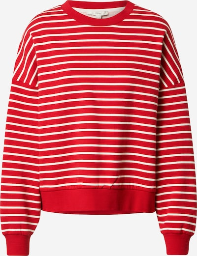 ESPRIT Sweatshirt in Red / White, Item view