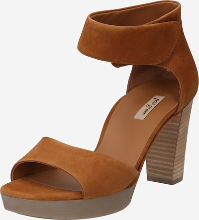Paul Green Páskové sandály - hnědá, Produkt