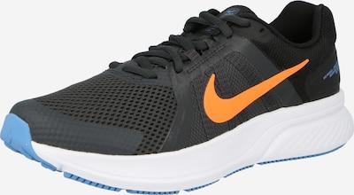 NIKE Chaussure de course 'Run Swift 2' en bleu roi / gris foncé / orange, Vue avec produit