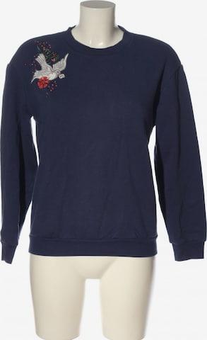 & Other Stories Sweatshirt & Zip-Up Hoodie in XS in Blue