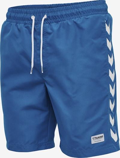 Hummel Boardshorts 'Radler' in himmelblau / weiß, Produktansicht