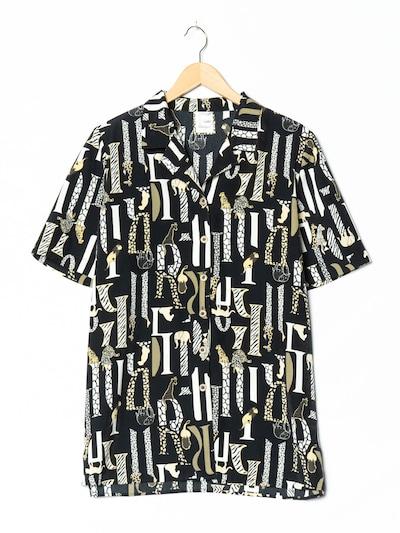 FRANKENWÄLDER Bluse in L-XL in schwarz, Produktansicht