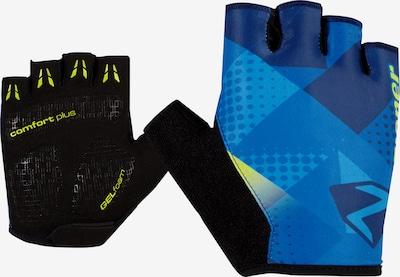 ZIENER Fingerhandschuhe 'CRISTOFFER' in blau / schwarz, Produktansicht