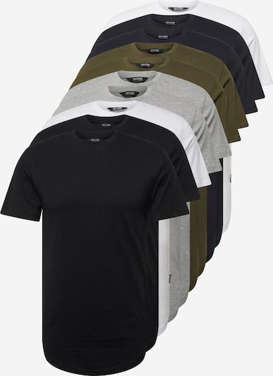 sötétkék / szürke / olíva / fekete / fehér Only & Sons Póló 'MATT', Termék nézet