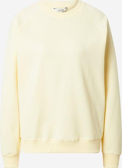 mbym Sweatshirt 'Myrah' in hellgelb, Produktansicht