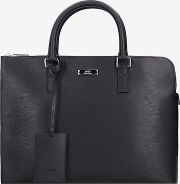 BOSS Casual Laptop Bag 'Galati' in Black