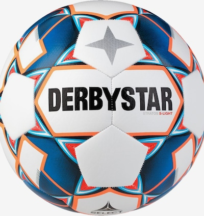 DERBYSTAR Ball in weiß, Produktansicht