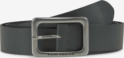 TOM TAILOR Gürtel in dunkelgrau, Produktansicht